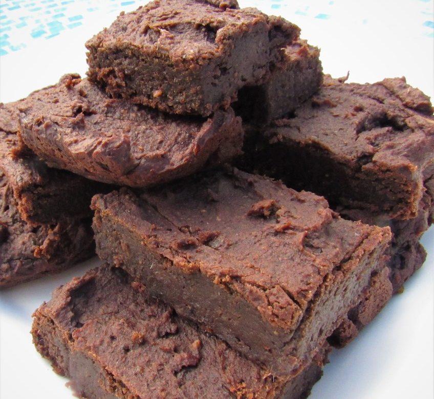 Easy Chocolate Fudge Brownies No Added Sugar Gluten Dairy Free Healthy Inspiration